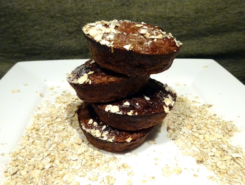 chocohavermout muffin