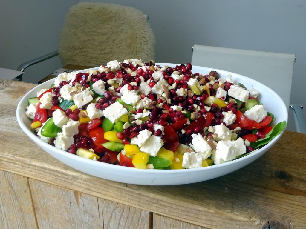 Quinoa salade met granaatappelDSC02780