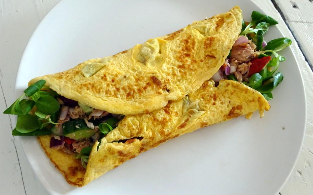 tonijn omelet wrapDSC02848