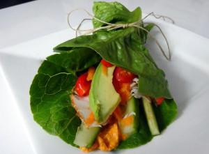 Sla wrap met avocado en kalkoenfiletDSC04269.JPG
